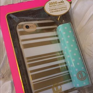 iPhone 6 6s case and battery backup set Like Kate!